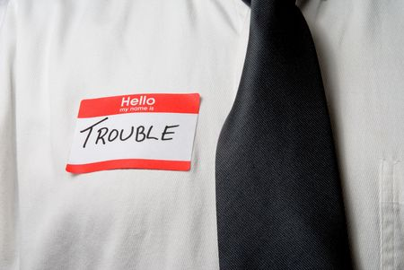 My Name is Trouble Stock Photo - 5055906
