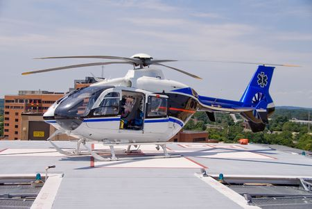 known: A mobile flying ambulance better known as a life flight.