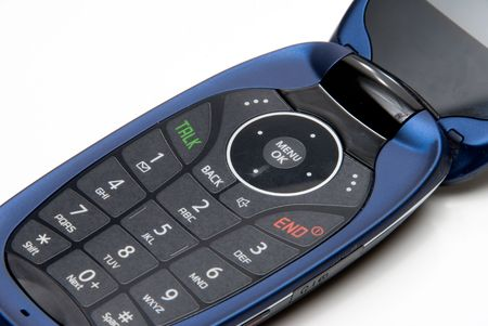 A close up image of a cell phone. Stock Photo - 5562319