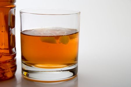 A big highball glass full of Kentucky Bourbon photo