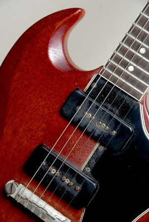 The body of an antique Electric Guitar Stock Photo - 5965596