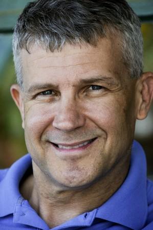 edad media: Una primer plano de la imagen de un hombre de handsone a�os de edad media  Foto de archivo