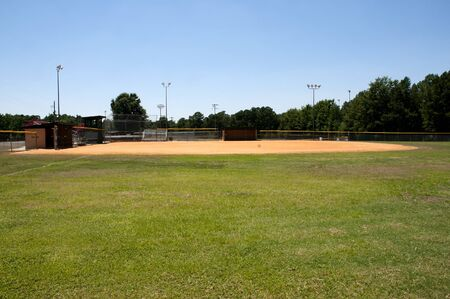 A baseball field at a community park photo
