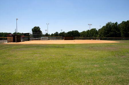 baseball field: A baseball field at a community park