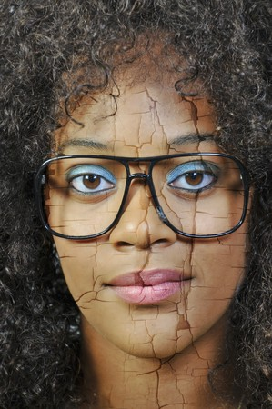 A woman suffering from a mental illness Stock Photo - 7365158