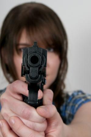 A Glock 30 45 Caliber Subcompact Handgun photo