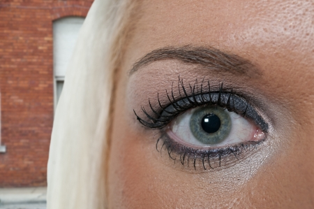 Eye of a very beautiful young woman Stock Photo - 14880064