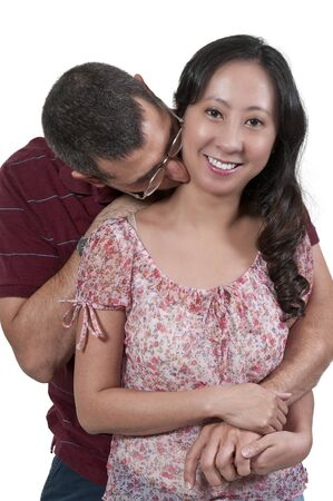 Couple in love - man and a woman photo
