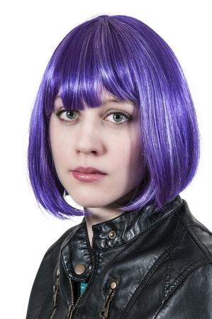 tatt: Beautiful young punk rock alternative lifestyle woman