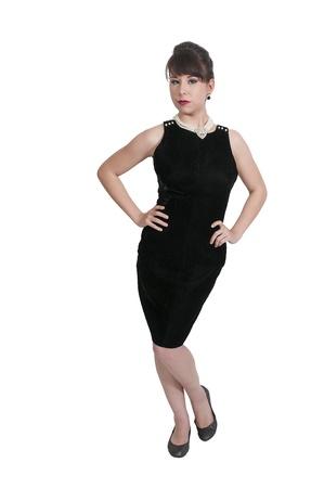 vedette de cin�ma: Belle jeune femme mod�lisation attrayant star de cin�ma la pose