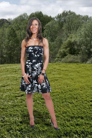 stilleto: A woman wearing sexy high heeled pumps shoes