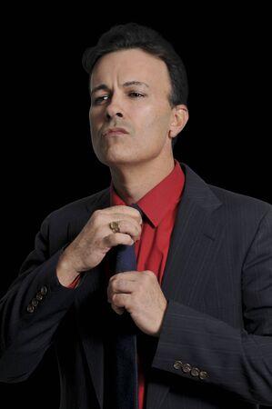 Handsome business man wearing a formal suit Stok Fotoğraf