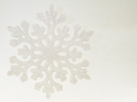 recreation snowflake abstract background with typical christmas