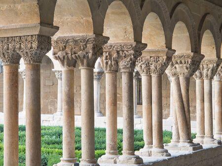 Cloister of Monasterio de Santo Domingo de Silos, Burgos, Spain