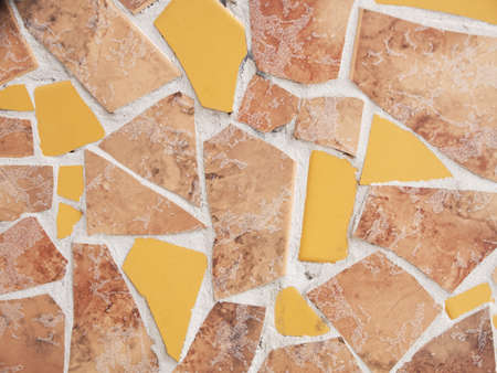 ancient ceramics with abstract geometry wall decoration Stock Photo - 16514953