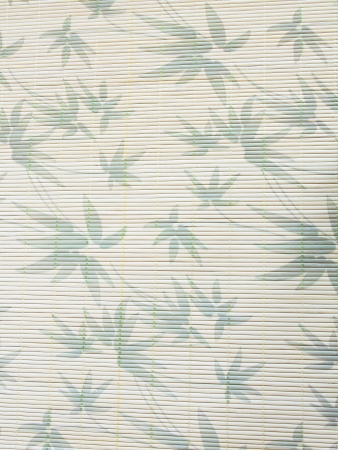 rice paper background with bamboo leaves vintage look personal editing Stock Photo - 16578409