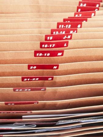 ratty: archiviazione di documenti con numerazione alfabetico Archivio Fotografico