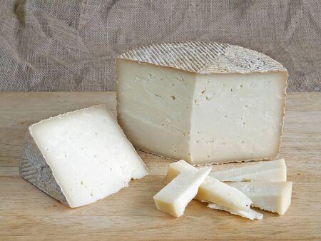 kaas gemaakt van schapen Stockfoto