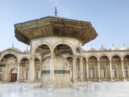 the citadel: Mohammed Ali Basha Mosquean, cittadella di Salah El Din a Il Cairo, Egitto