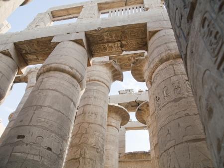 Columns in Karnak Temple (Luxor, Egypt)