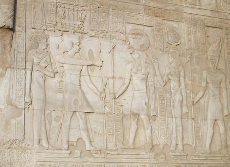 hieroglyphics of ancient Egyptian culture Stock Photo - 17118921