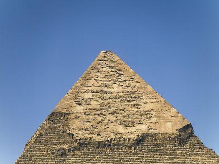 chephren: pyramids of Chephren Stock Photo