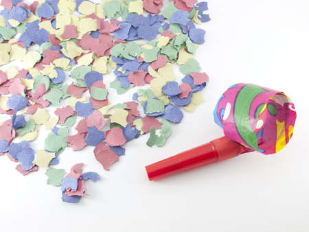 colorful confetti background  red, blue, green, yellow
