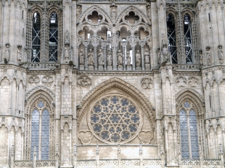 Gothic Dome of The East Face of Burgos Cathedral, Burgos, Castilla y Leon  Spain Stock Photo - 17472161