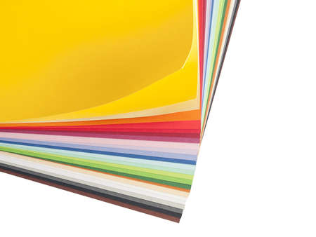 Construction paper for art projects Stock Photo
