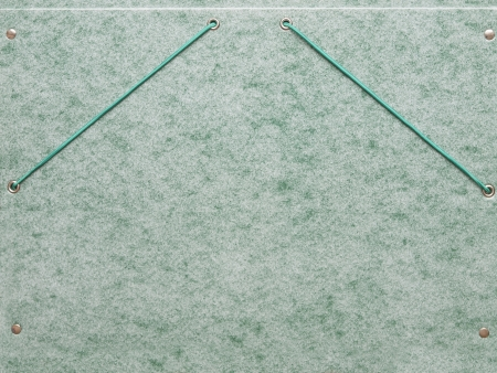 Elastic folder with green abstract