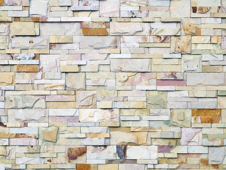 and bottom wall tile texture different shapes and colors Stock Photo - 17786295