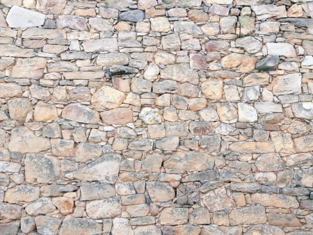 Rustic wall of stones of different sizes Stock Photo - 17788210