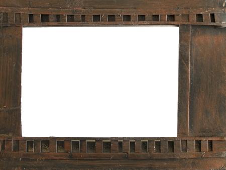 metal picture frame shaped film negative