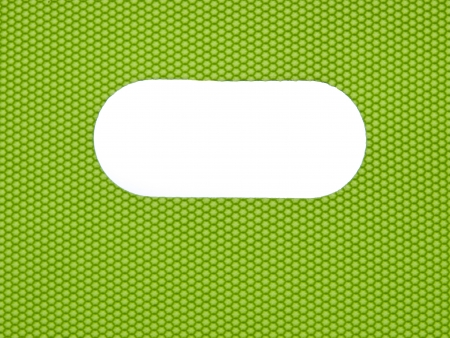 Geometric Abstract green background with white window photo