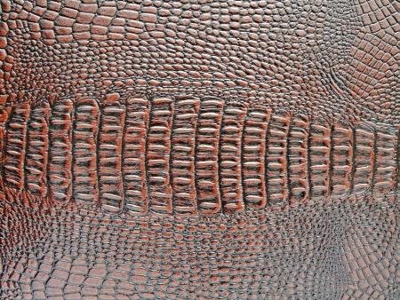 crocodile skin texture brown artificial