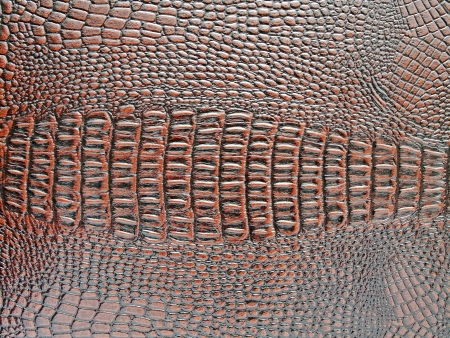 krokodillenleer textuur bruine kunstmatige