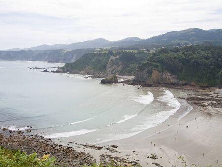 asturias: coast of Asturias, Spain Stock Photo