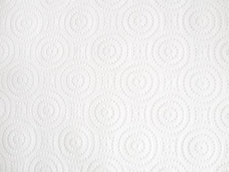 Textuur van wit papieren zakdoekje