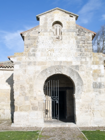 palencia province: Visigothic church of St  John of bays in the province of Palencia, Spain