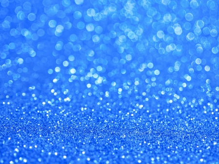 Defocused abstract blue lights background 免版税图像