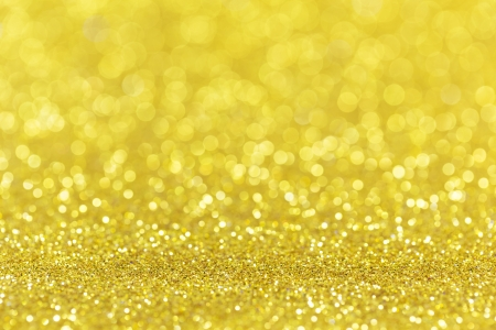 Twinkly golden Lights Christmas Background photo