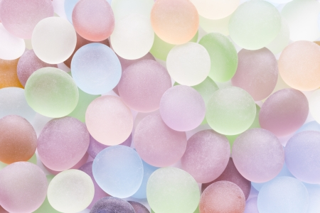 background of translucent colored stones Stock Photo