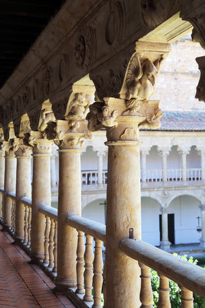 oration: from the cloister of Las Dueñas Dominican Convent. Salamanca, Spain