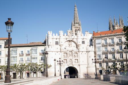 Arco de Santa Maria, Burgos, Castilla y Leon, Spain photo