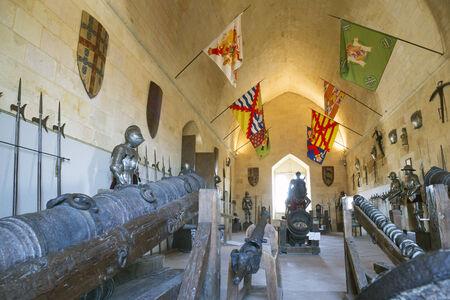 Armor in the Alcazar of Segovia ,spain Editorial