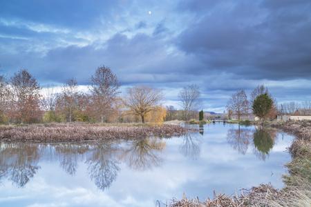 floodgates: channel of Castile ,palencia,spain