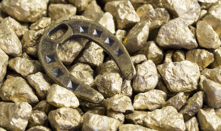 nuggets: lucky horseshoe gold nuggets