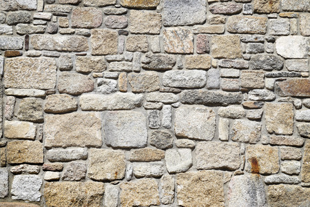 abstracto: Stone wall background Stock Photo