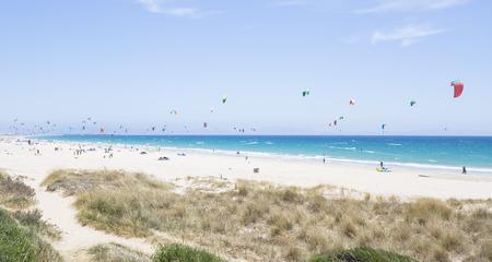 kitesurfen in Tarifa, Spanje