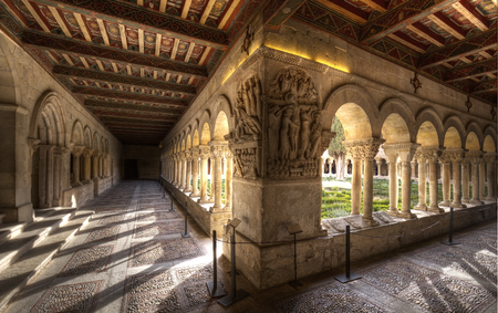 St. Domingo of Silos cloister ,burgos,spain